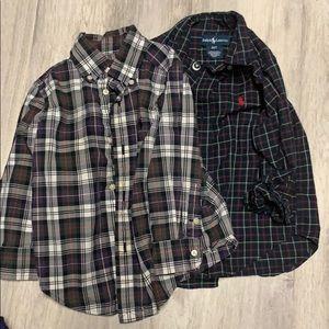 Ralph Lauren dress shirts in 2T